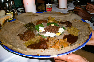 Injera-traditional-meal-meet-wat-cheese-ethiopia-adventuresinethiopia
