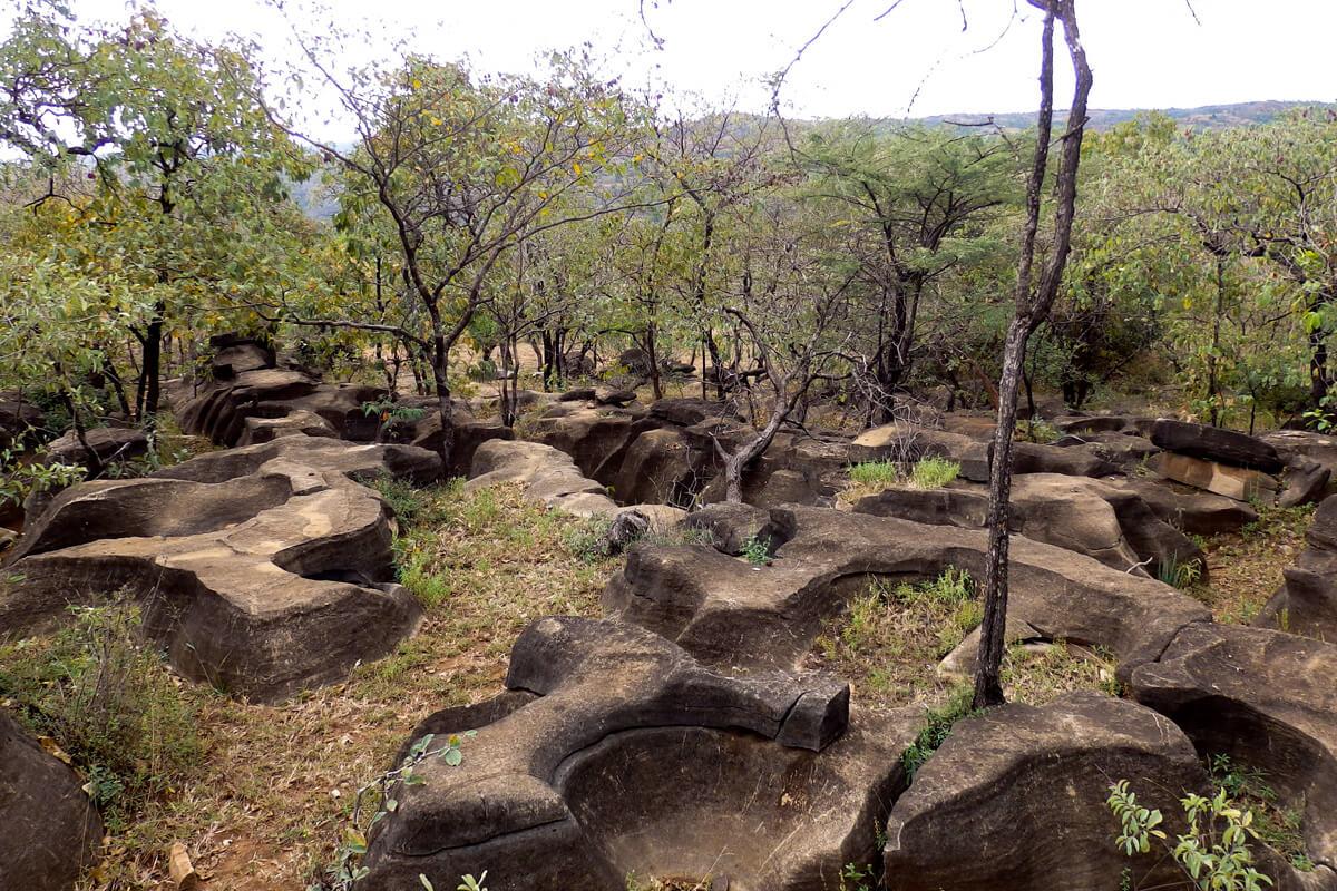 Machera-bero-cave-trekking-stones-erosion-ethiopia-adventuresinethiopia