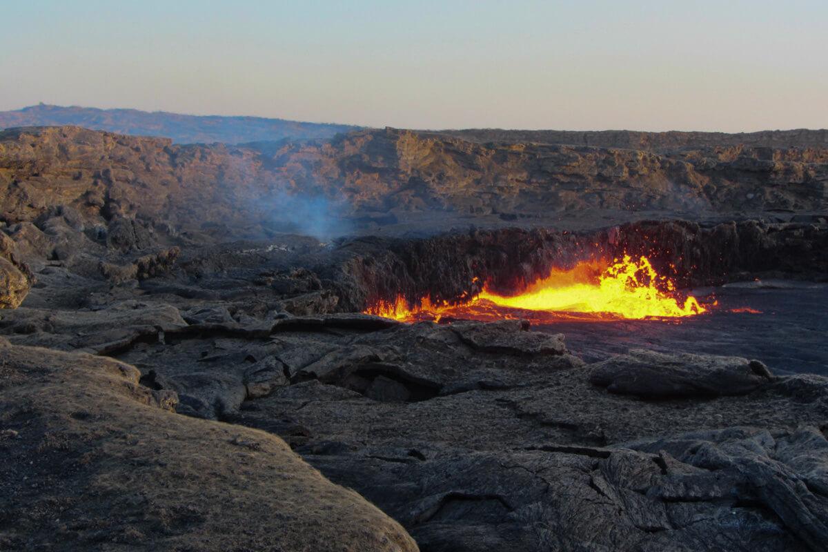 Erta-Ale-Lava-Lake-flame-smoke-trekking-ethiopia-adventuresinethiopia