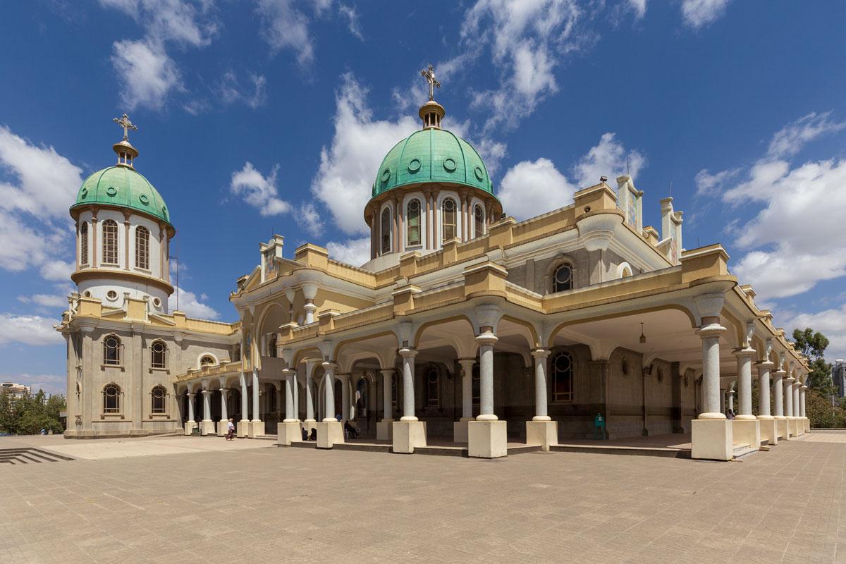 Addis Ababa_Medhanialem_church_new_city_country_Africa_religion_prists_traveling_tourism_adventuresinethiopia