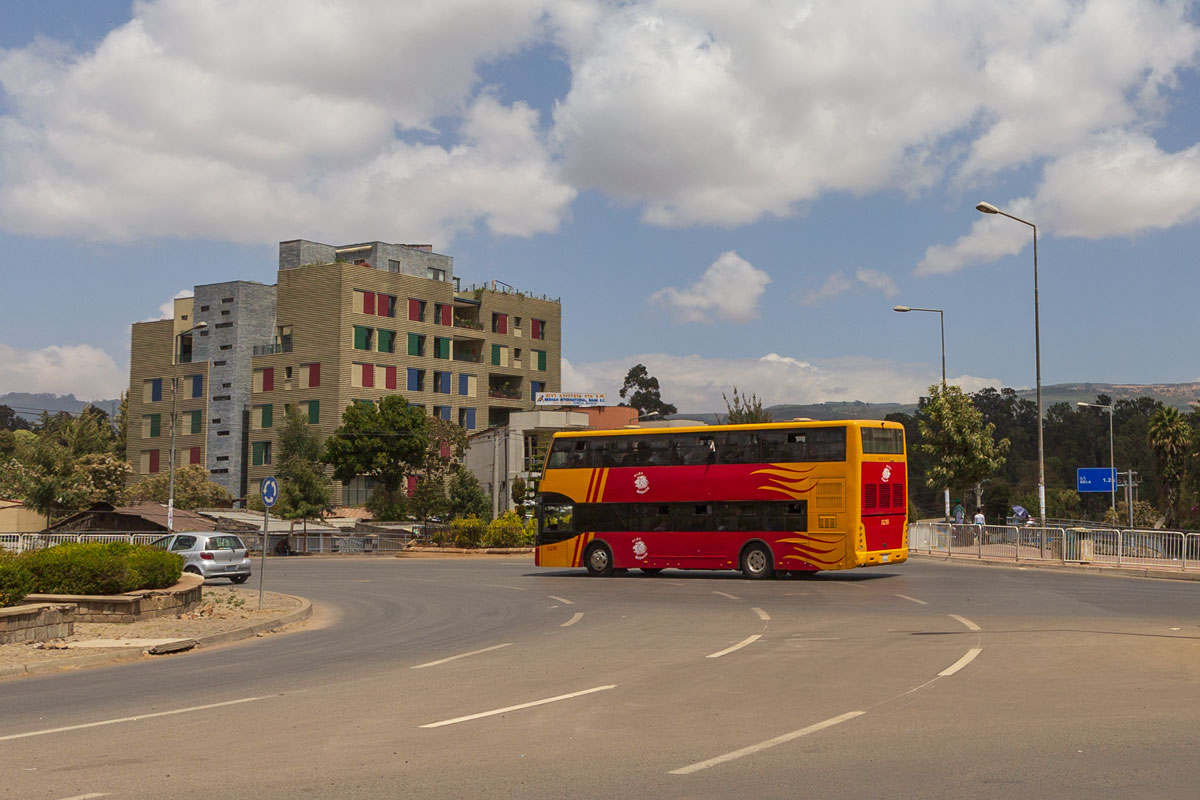 Addis Ababa_main street_buss_new city_Africa_Country_traveling_tours_adventuresinethiopia