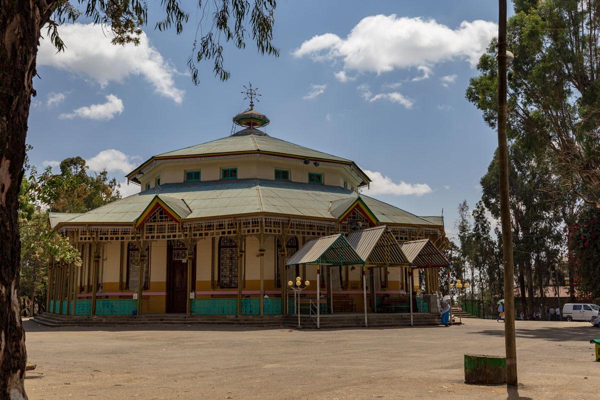 AddisAbaba_church_religion_orthodox_StGabriel_City tour_Africa_country_adventuresinethiopia