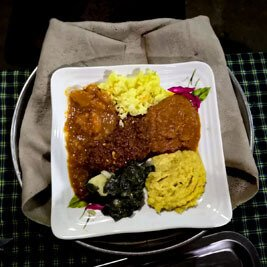 Ethiopia-special-meal-breakfast-wat-stew-injera-local-bread