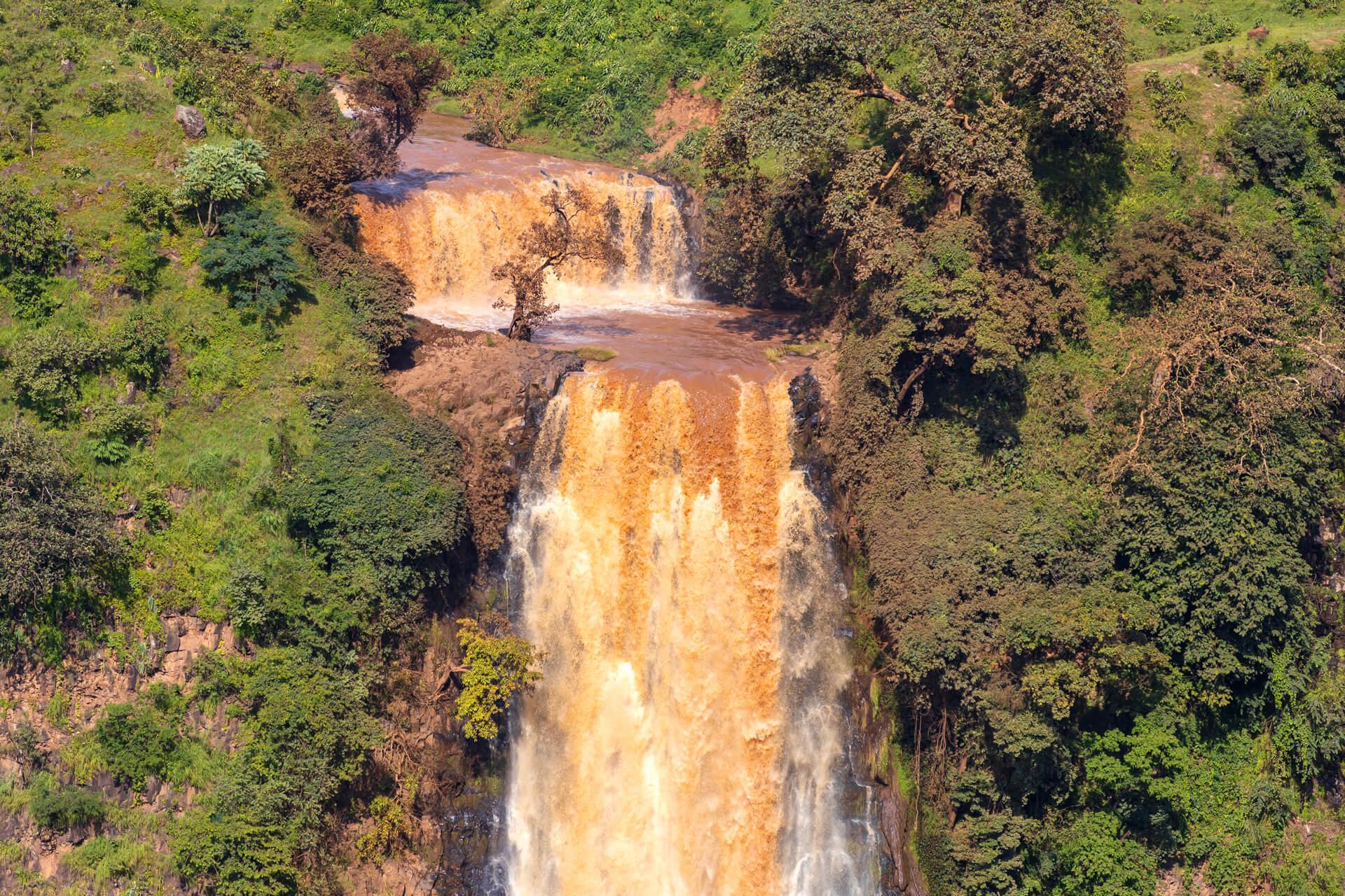 Adjoura waterfall Ethiopia