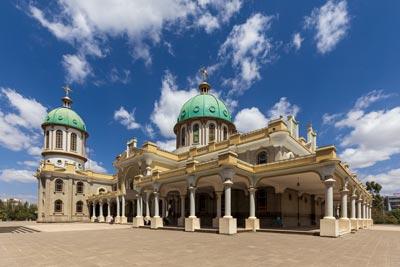 Addis Ababa Medhane Alem Cathedral ortodox religion